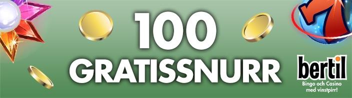 100 gratissnurr hos bertil